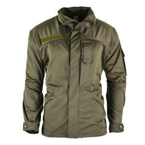 Genuine-Austrian-army-combat-mountain-jacket-alpine-military-olive-OD-parka-NEW