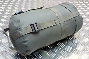 Genuine British Army Compression Sack For Light Weight Sleeping Bags - Used