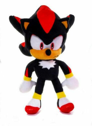 "SHADOW THE HEDGEHOG Official 12/"" Sega Sonic Soft Plush Toy Brand New"