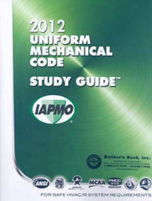2012 Uniform Mechanical Code Study Guide 9781938936616 EBay