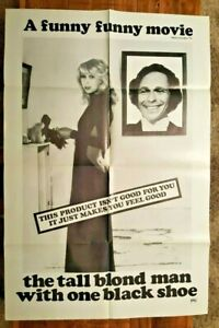 THE-TALL-BLOND-MAN-WITH-ONE-BLACK-SHOE-Original-Movie-Poster-1972