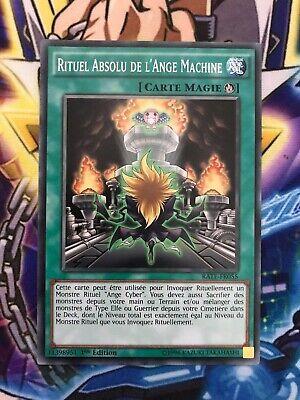 "Yu-Gi-Oh x2 /""Rituel Absolu de l/'Ange Machine/"" RATE-FR055"