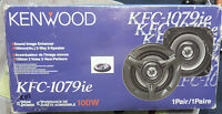 Pair Of Kenwood Kfc-1079ie 4 Speakers In Box