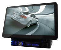 Pyle 10 Inch Lcd Touch Screen Bluetooth Dvd Cd Mp3 Player Fm Radio Receiver Car