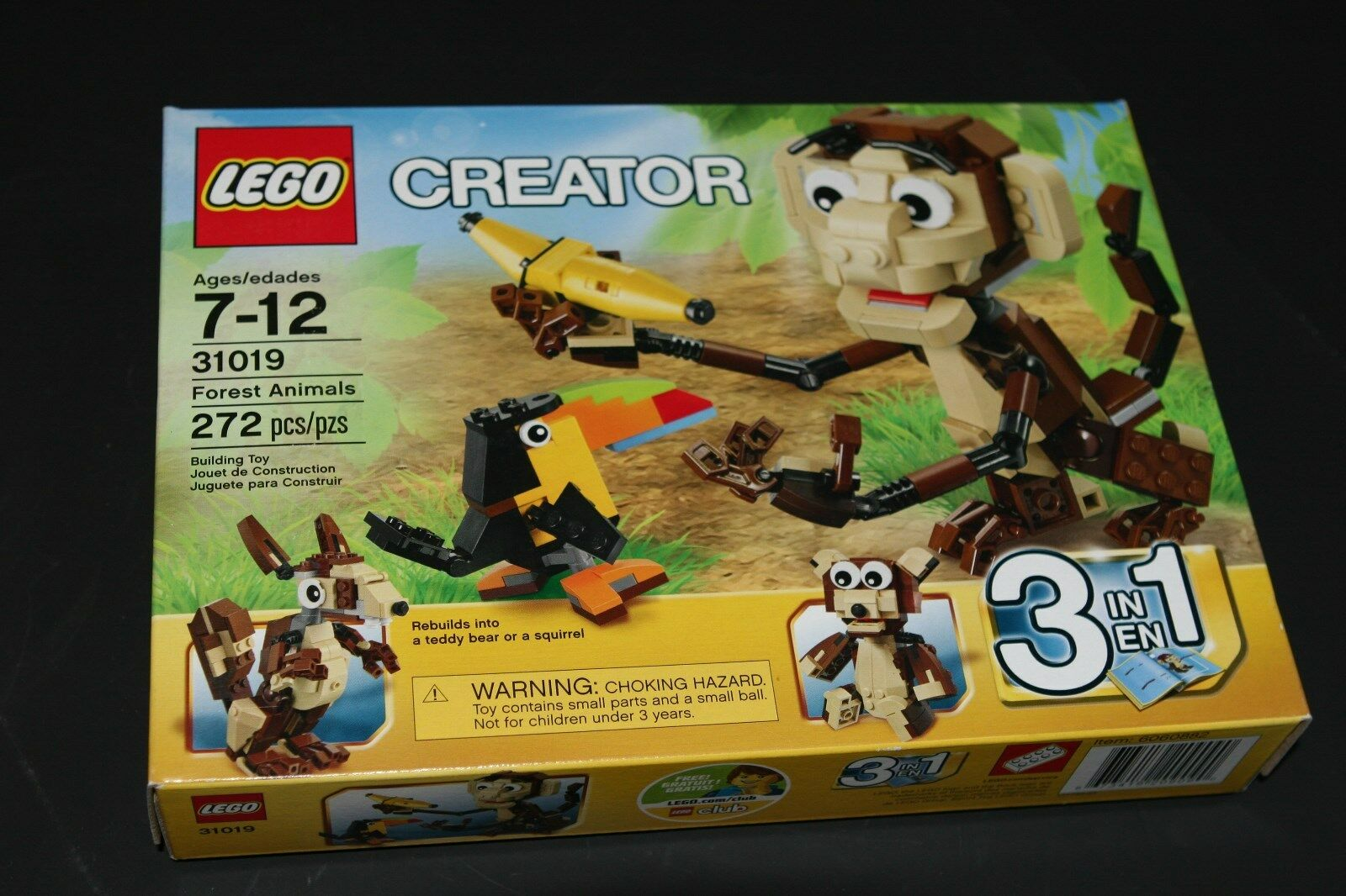 LEGO 31019 Creator Monkey & Bird Unused Set
