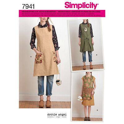 7941 Schürze Schnittmuster Simplicity Nr