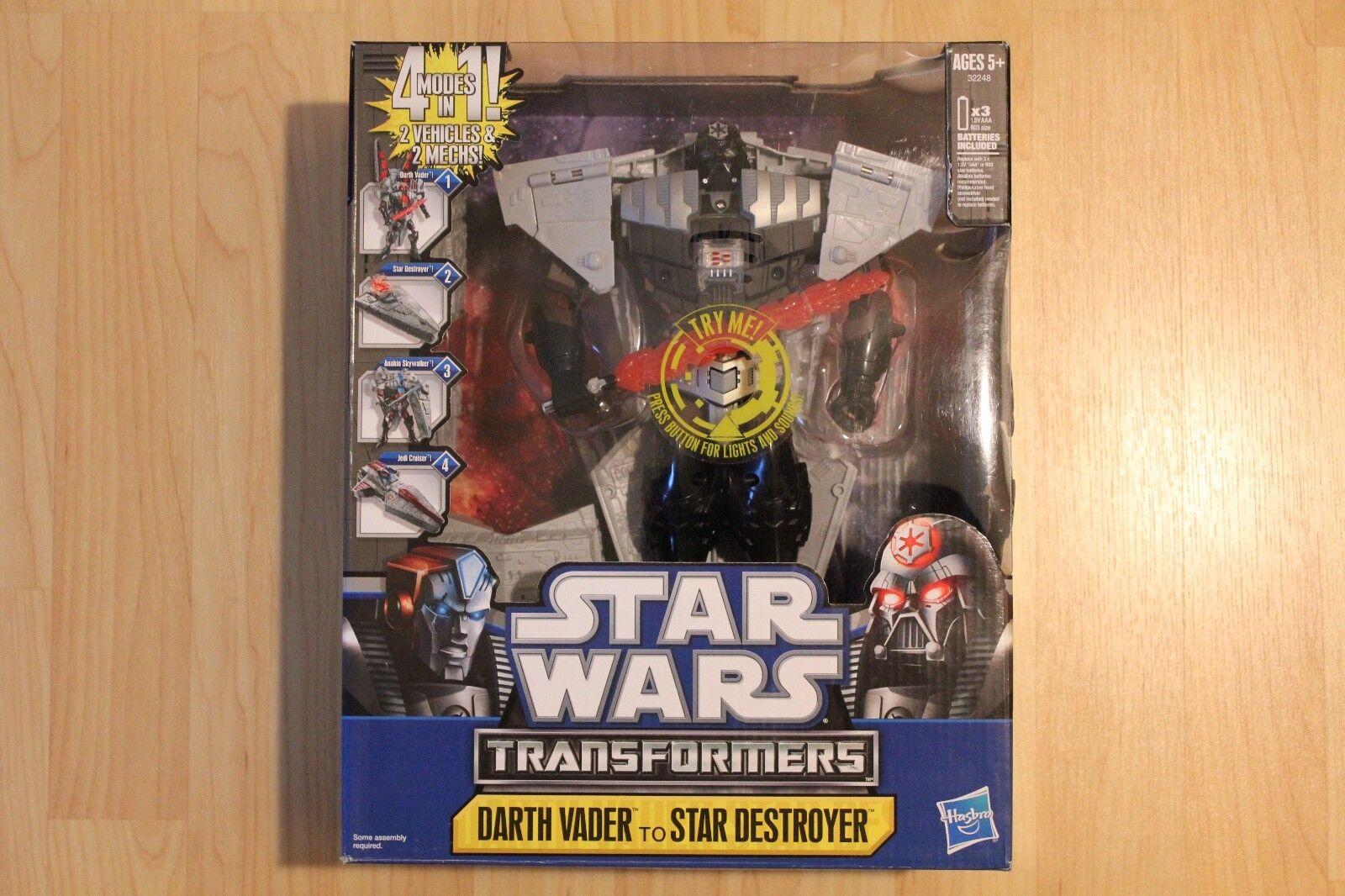 Star - wars - transformatoren darth vader nib