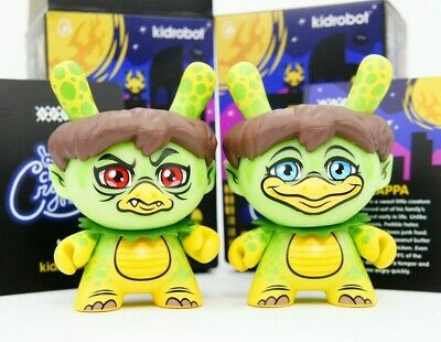 City Cryptid 3-Pack Bundle Blind Box Dunny Mini Series by Kidrobot Brand New