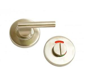Disabled Turn Release Door Lock Set Stainless Steel Toilet Privacy Bolt