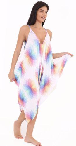 Womens Cami Jumpsuit Lagenlook Romper Baggy Harem Playsuit Dress lot Plus Size