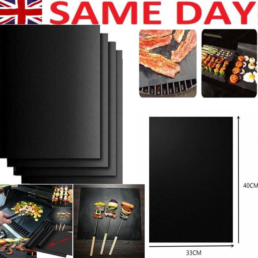 1 to 6Pcs Heavy Duty Teflon OVEN LINER Protector Sheet Mat Non Stick Cooker BBQ