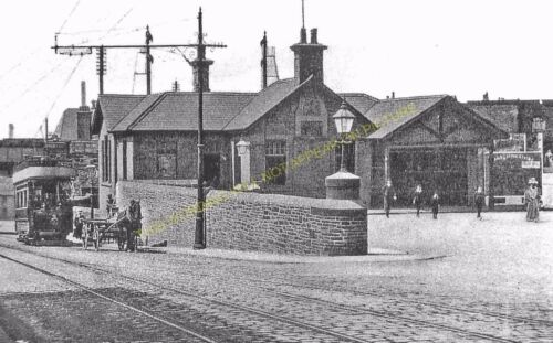 Colne Railway Station Photo 2 Lancs /& Yorks Railway. Foulridge Nelson
