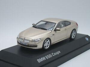 BMW-650i-F13-de-2-puertas-Coupe-2018-champan-1-43-Caja-De-Distribuidor