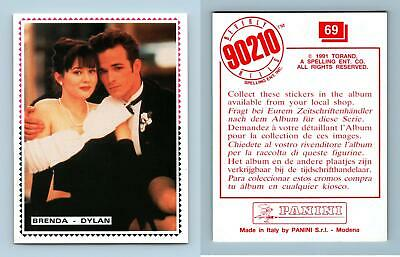 Brenda Dylan #69 Beverly Hills 90210 Panini 1991 Sticker