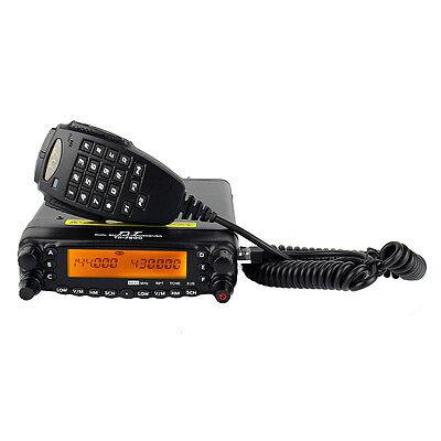 TH-7800 Vehicle Transceiver Radio DC 13.8V VHF+UHF 136-174/400-480MHz 50W 809CH