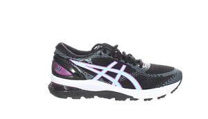 ASICS Womens Gel-Nimbus 21 Black/Skylight Running Shoes Size 7.5 (1820873)