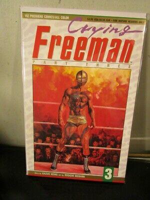 Viz Premiere Comics 1992 Crying Freeman Part 5 Comic Book #10 NEW UNREAD
