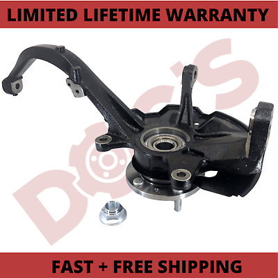 Front Left Driver Side Suspension Steering Knuckle For 2006-2012 Ford Fusion Lincoln MKZ Zephyr Mercury Milan 698-409