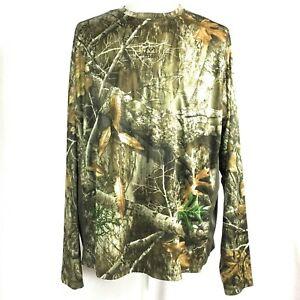à Condition De Realtree Camo T-shirt Manches Longues Chasse Couche De Base Xl-afficher Le Titre D'origine