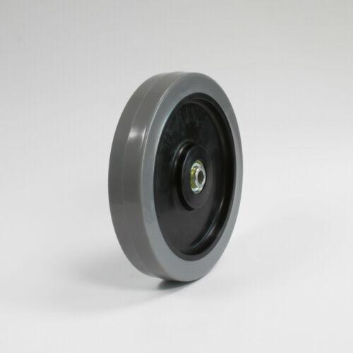1//2 inch bore 8 inch polyurethane wheels