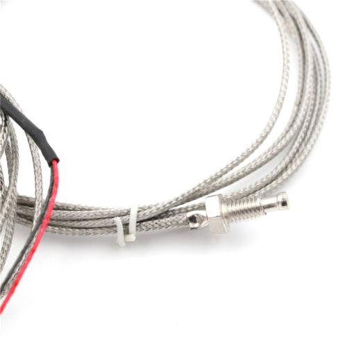 2M M6 K-Typ Schraube Thermoelement Temperaturregler 0-600 ℃ Sensor Sonde  X BCDE