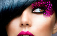 Poster 19 X 13 Feather Eyelashes
