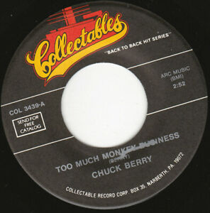 """CHUCK BERRY - Too Much Monkey Business  7"""" 45"""