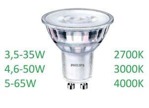 PHILIPS LED CorePro Hochvoltlampen PAR16 GU10 3,5W in 3 Lichtfarben =35W