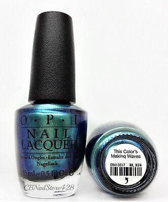 OPI Nail Lacquer - HAWAII Spring/Summer 2015 Collection - Pick Any Shade 0.5oz