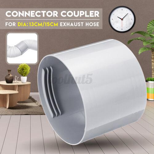 13//15cm Dia Exhaust Hose Connector Coupler for Extending 2 Air Conditione Hoses