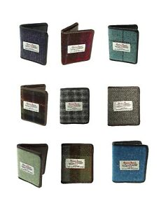 8f6382d5aa19 Image is loading Harris-Tweed-Card-Holder-Wallet-Available-In-17-