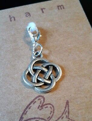 Celtic Charms Scottish Icon Red Kilt Clip on Charm Gift Bracelet Necklace
