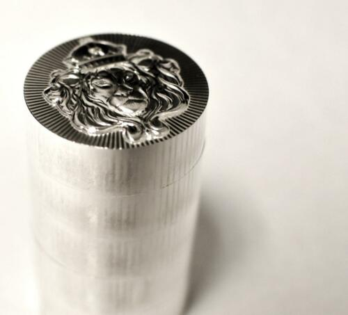 1 x 5 oz .999 Silver STACKER ROUND by Scottsdale Mint 5 oz .999 Silver #A375