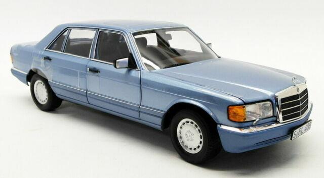 Norev 1:18 1991 Pearlbluemetallic MB Mercedes Benz 560 SEL