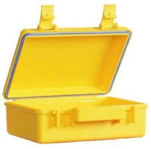 outdoor immersioni campeggio UK Impermeabile Dry Box 309 nero o giallo ABS