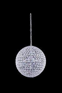 5 light beautiful sphere crystal modern chandelier disco. Black Bedroom Furniture Sets. Home Design Ideas