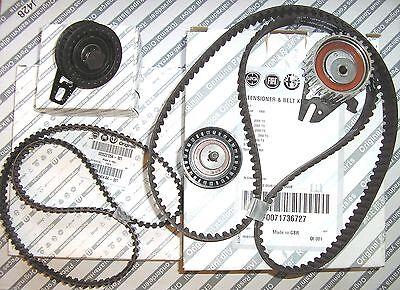 ALFA ROMEO 156 166 2.0 16V TS New GENUINE Cam Belt Timing Kit & Balance Belt Kit
