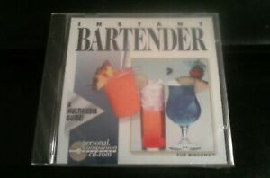 Instant-BARTENDER-CD-ROM-for-Windows-NEW-CD-in-SLEEVE-SEALED