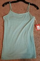 Mossimo Ladies Spaghetti Strap Tank Top W/ Built In Bra, Sz. Md.