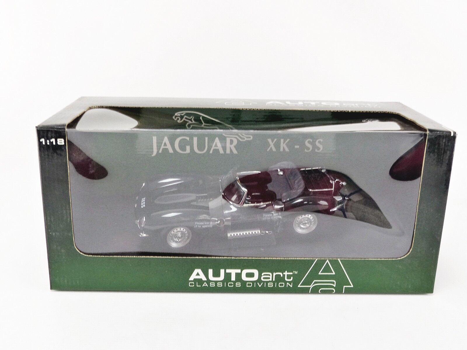 AUTOART 1 18 - JAGUAR XK SS 1957 - 73511 - BLISTER UN PEU ABIME
