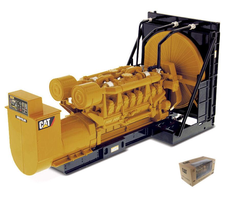 Cat 3516b  Engine Générateur 1 25 Model Miniature Masters  commander en ligne