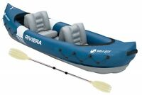 Sevylor Riviera Inflatable Kayak - With 1 X Paddle - Shipped Fast