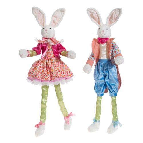Spring Bunny Rabbit in Bright Costume 30in rzsp 3702043 NEW RAZ boy girl design