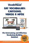 Vocabahead SAT Vocabulary: Cartoons, Videos & Mp3s by Vocabahead (Paperback / softback, 2010)