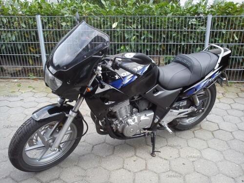 farbige Naht Schriftzug wählbar Sitzbank beziehen für Honda CB500 CB 500