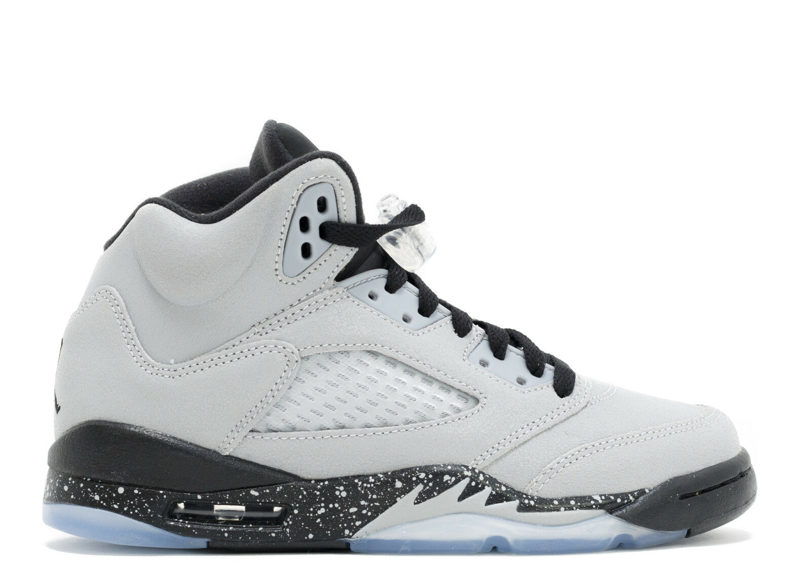 AIR JORDAN RETRO 5 V YOUTH 440892-008 CEMENT BRED WHITE BLACK RED GS BOYS NEYMAR Comfortable and good-looking
