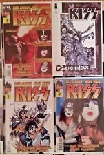 KISS comic books lot 19 total + book compilation MINT