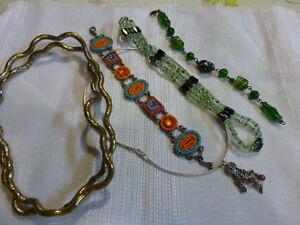 6piéces Diverses Bijoux ,perles Pour Créatrice ?? Ou Pour Porter ?? Activation De La Circulation Sanguine Et Renforcement Des Nerfs Et Des Os