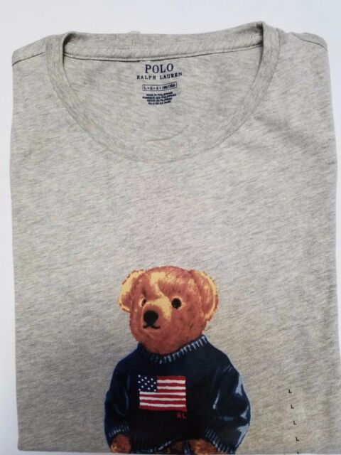 c9569ccf NEW Polo Ralph Lauren Men's Limited Edition Polo Bear T Shirt Great Gift XL  XXL