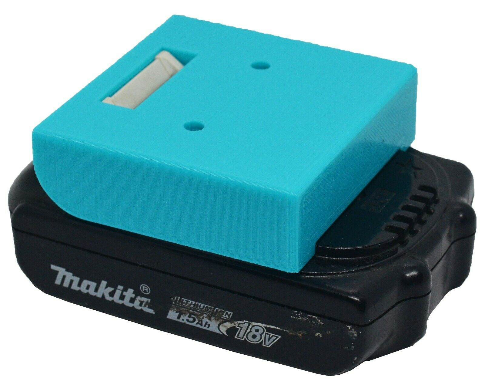 *4-Pack* Makita 18V LXT Battery Holder - Protective Cover - Wall Mount